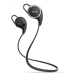 billige Bluetooth-hodetelefoner-QCY Trådløs Hodetelefoner Plast Sport og trening øretelefon Med volumkontroll Med mikrofon Støyisolerende Headset