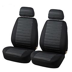 Autoyouth auto's zetel deksels volledige autostoeltje universele pasvorm interieur accessoires auto hoesjes kat ogen stijl rood grijs