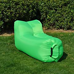 Aufblasbares Sofa Tragbar Komfortabel Nylon für Camping & Wandern Angeln Draußen Frühling Sommer Herbst