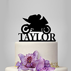 cheap Cake Toppers-Cake Topper Classic Theme Vehicles Vehicle Plastic Wedding Party Anniversary Birthday New Baby with 1 Poly Bag