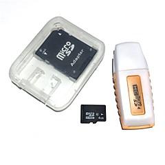 baratos Cartões de Memória-Ants 4GB cartão de memória Class6 AntW6-4