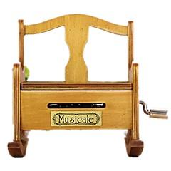 Barkács készlet Zenedoboz Játékok Bútor Fa Darabok Gyermek Uniszex Ajándék