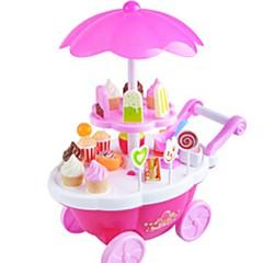 Hrajeme si na... Toy Foods Autíčka Hračka pro Candy Toy Hračky Zmrzlina Hudba a světlo Dítě 1 Pieces