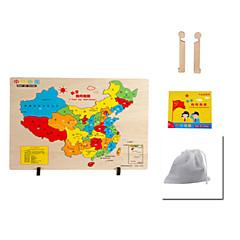 Bildungsspielsachen Holzpuzzle Spielzeuge Hühnchen Haus andere Cartoon Shaped friut Unisex Stücke