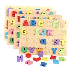 hesapli Matematik Oyuncakları-Legolar Yapboz Matematik Oyuncakları Eğitici Oyuncak Harf Liczba Ahşap Genç Kız Çocuklar için Hediye