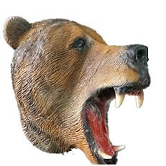 tanie Zabawki nowoczesne i żartobliwe-Maski na Halloween Maska zwierzęca Niedźwiedź Motyw horroru Klej Sztuk Dla obu płci Dla dorosłych Prezent