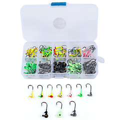 cheap Fishing Hooks-100 Non Hang-Nail Needle Sea Fishing Bait Casting Ice Fishing Spinning Jigging Fishing Freshwater Fishing Other Trolling & Boat Fishing