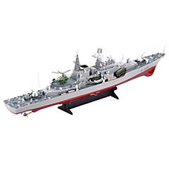 """RC סירה HT-2879 אוניית מלחמה סירה שליטה מרחוק דגם ספינה 4 ערוצים 6 ק""""מ / ח סופר גדול גודל"""