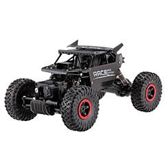 billige Fjernstyrte biler-Radiostyrt Bil Flytec 9118 2.4G Off Road Car Monster Truck Bigfoot Høyhastighet 4WD Driftbil Vogn Fjellklatring Bil 1:18 KM / H