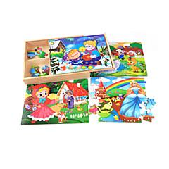 Bildungsspielsachen Holzpuzzle Spielzeuge Haus Zeichentrick andere friut Unisex Stücke