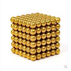 tanie Zabawki magnetyczne-Zabawki magnetyczne Klocki Magiczne kostki Magic Ball Płytki magnetyczne Gadżety antystresowe 216pcs 3mm Klasyczny DIY Zaokrąglanie