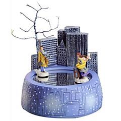 オルゴール おもちゃ 回転木馬 ウッド 小品 子供用 男女兼用 誕生日 バレンタイン・デー ギフト