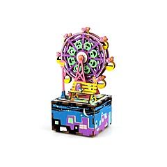 Puzzles Sets zum Selbermachen Holzpuzzle Bausteine Spielzeug zum Selbermachen Kreisförmig Fotograf Zeichentrick Komposit