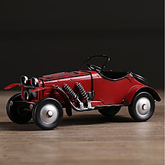 Diy automotive koristeet amerikkalainen retro luovuus nostalginen auto kotiin sisustus auto riipus&Koristeet metalli