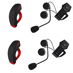 Motocicleta V4.2 Fones Bluetooth Estilo pendurado da orelha Controle Remoto