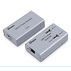 Χαμηλού Κόστους USB-USB 2.0 Σπλίτερ, USB 2.0 to Cat 5e UTP Cat 6e UTP Σπλίτερ Θηλυκό - Θηλυκό