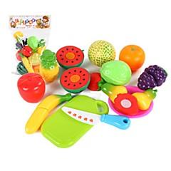 Hrajeme si na... Toy kuchyňských sestav Toy Foods Hračky Zelenina Friut Simulace Pieces