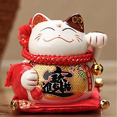 DIY automotive ornaments heldig katt gavebil anheng&Ornamenter keramikk