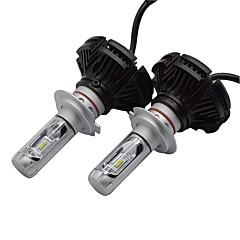 1 sett x3 led forlyktesett 50w 6000 lm seks-ledet forlyktesett med super lysstyrke