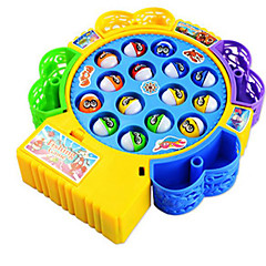 Magnetspielsachen Angeln Spielzeug Spielzeuge Kreisförmig Fische Heimwerken Kinder 1 Stücke