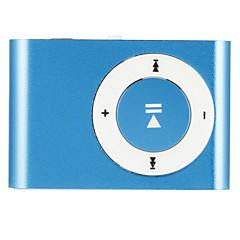 economico -Lettore multimediale di musica mp3 mini usb clip metallica di sostegno 1-8GB micro sd tf moda