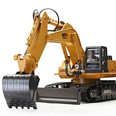 RCカー HUINA 1510 11チャンネル 2.4G ショベル 1:16 KM / H リモートコントロール 充電式 エレクトリック