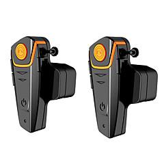 Motocicleta V4.2 Fones Bluetooth Mãos livres do carro Controle de som Player MP3