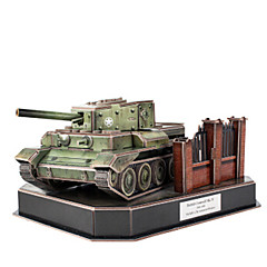 3D Puzzles Jigsaw Puzzle Toys Tank 3D DIY Male Boys Pieces