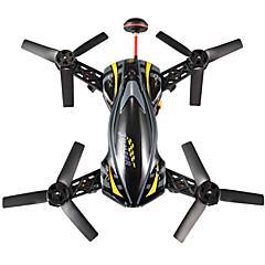 billige Fjernstyrte quadcoptere og multirotorer-RC Drone Cheerson CX-91A 4 Kanal 6 Akse 2.4G Med HD-kamera 2.0MP Fjernstyrt quadkopter FPV LED Lys En Tast For Retur Sveve