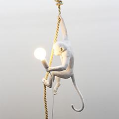 billiga Dekorativ belysning-Originella Hängande lampor Glödande Målad Finishes Harts Ministil 110-120V / 220-240V Varmt vit / Kall vit Glödlampa inte inkluderad / FCC / E26 / E27