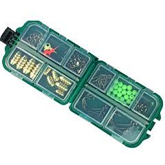 billige Fiskegrejer Kasser-Fiskegrejer Kasser Utstyrskasse Vanntett Plast 9.5*2 1/2 tommer (ca. 6.5 cm)*3