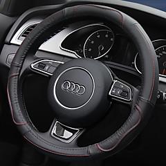 billige Rattovertrekk til bilen-Rattovertrekk til bilen Lær 38 cm Rød / Beige / Grå For Universell General motors Alle år