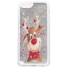 Für iPhone X iPhone 8 iPhone 8 Plus iPhone 7 iPhone 7 Plus Hüllen Cover Mit Flüssigkeit befüllt Muster Rückseitenabdeckung Hülle