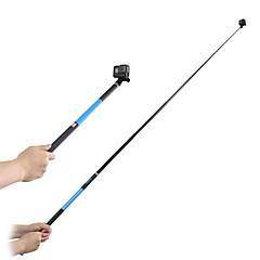 tanie Akcesoria do GoPro-Telescopic Pole Składany/a Rozszerzony Wodoszczelny Ultra Slim z podstawką Cup Regulowany rozmiar Sztyft Lepki Bardzo długa Dla Action