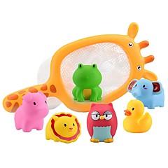 Jucării Apă Apă echipamente de joacă Jucării de Baie Jucarii Rață Tigru Plastic moale Temă Plajă Animale Clasic & Fără Vârstă Desene