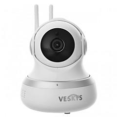 veskys® 1080p hd 2.0mp wifi -valvontakamera IP-kamera / pilvi-tallennus / kaksisuuntainen ääni / kaukosäädin / yönäkymä