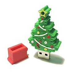 4gb Crăciun usb flash drive desen animat creativ Crăciun copac Crăciun cadou usb 2.0