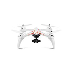 billige Fjernstyrte quadcoptere og multirotorer-RC Drone WL Toys Q696-E 4 Kanal 2.4G Med HD-kamera 2.0MP Fjernstyrt quadkopter LED Lys / Hodeløs Modus / Flyvning Med 360 Graders Flipp