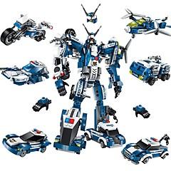 Robotti Rakennuspalikat Lentokone Taistelija Lelut Robotti Asevoimat DIY Klassinen Uusi malli Aikuisten Poikien 577 Pieces