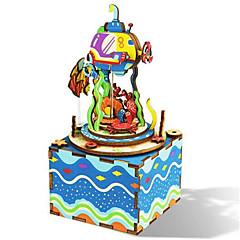 Barkács készlet Zenedoboz Játékok Négyzet Ló Rajzfilmfigura Romantikus 1 Darabok Nincs megadva Születésnap Ajándék