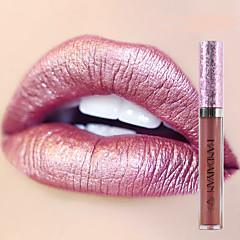 nou luciu de buze luciu machiaj pigment aur nud sirenă culoare lipgloss luciu strălucitor metalic lichid buze luciu de buze