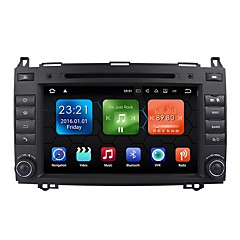 billiga DVD-spelare till bilen-8 tum 2 Din Android 7.1 Högupplöst / Bluetooth / Inbyggd Bluetooth för Mercedes-Benz Stöd / GPS / RDS / Wifi / Pekskärm / SD / USB-stöd