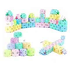אבני בניין קלפי פלאש חינוכיים צעצועים מלבני עשה זאת בעצמך לא מפורט חתיכות