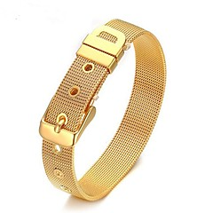 cheap -Men's Chain Bracelet Jewelry Simple Style Alloy Geometric Jewelry For Daily