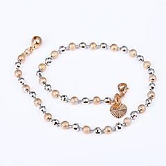 tanie Piercing-Pokryte różowym złotem - Damskie Różowe złoto Łańcuszek na kostkę Na Plaża Klubowa