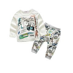 billige Babytøj-Baby Drenge Afslappet / Hverdag Dyr Langærmet