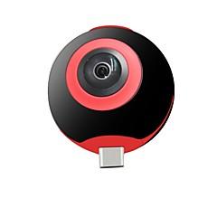 geekam live i high definition micro usb 720p lett å bære panoramakamera