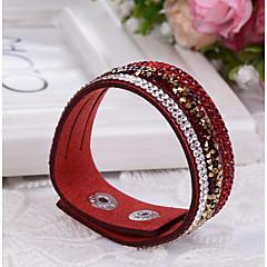 Women's Bracelet Leather Bracelet Fashion Adjustable Leather Rectangle Jewelry For Wedding Daily