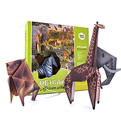 Sets zum Selbermachen Tiere Spielzeuge Vogel Fische Eidechse Löwe Zebra Eule Shark Nilpferd Tiere Tier Strand Tiere Special entworfen