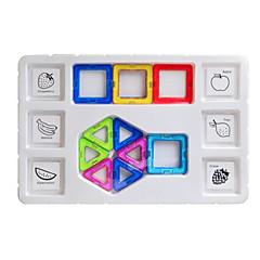צעצועים מגנטיים אבני בניין בלוקים מגנטיים מגדיר בניין מגדיר צעצועים מצחיק מגנטי לא מפורט חתיכות